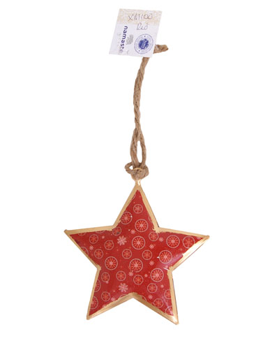 Winter Design Star Christmas Decoration