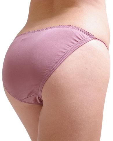 Silky bikini underwear