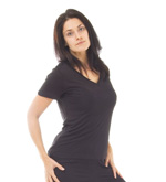 Knitted Silk T-Shirt