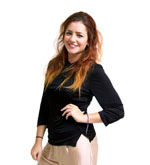 Knitted Silk Mix Top