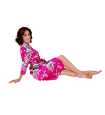 Satin Dressing Gown - Clearance