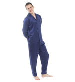 Classic Silk Pyjamas and Dressing Gown Set